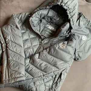 Michael Michael Kors lightweight hooded down coat